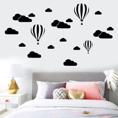 Lovely Sticker Background Rooms Mural Decals Wall Art Wall Stickers Home Decor Living Room white 57cm x 79cm