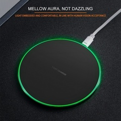 USB Charging Pad for Samsung  Google Nexus Nokia Compact ThinQ Lumia  Xiaom iPhone Wirless Charger black 5v/1A