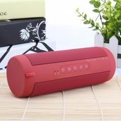 Professional IPX7 Waterproof Outdoor HIFI Column Speaker Wireless BluetoothSpeakerSubwoofer soundbox red V4.0 + EDR Class 2