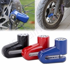 Motorcycle Security Anti Theft lock Motorcycle Bicycle Moped Scooter Disk Brake Rotor Lock