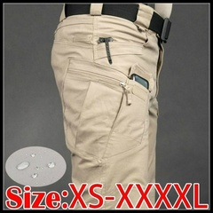 Men XS-5XL Tactical Military Cargo Pants Outdoor Sports Hiking Pants Trousers Combat Multi-pockets Khaki s