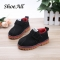 ShoeAll 1 Pair Classic Boys Shoes Children Casual Boys Shoe Black 21