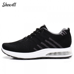 ShoeAll 1 Pair Men's Running Shoes Athletic Sport Sneakers Outdoor Walking Shoes black 39