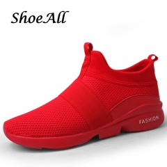 ShoeAll 1 Pair Quality Men Casual sports Rubber sport Sole Men Shoe red 43