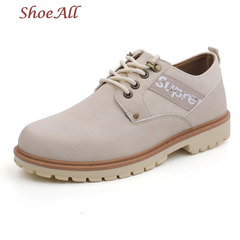 ShoeAll 1 Pair Men Casual Sneakers Loafers Fashion Quality Men Shoe Classic Boot grey 39