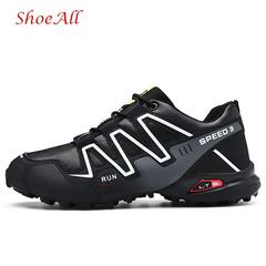 ShoeAll 1 Pair Men Casual Sneakers Loafers Fashion Quality Men Shoe Classic black 41