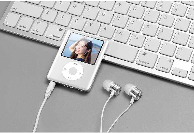 Mp3 Mp4 16G Music player with 2.0in screen,Support SD/TF/miniSD Card, recording,FMRadio Mini Digital green 6
