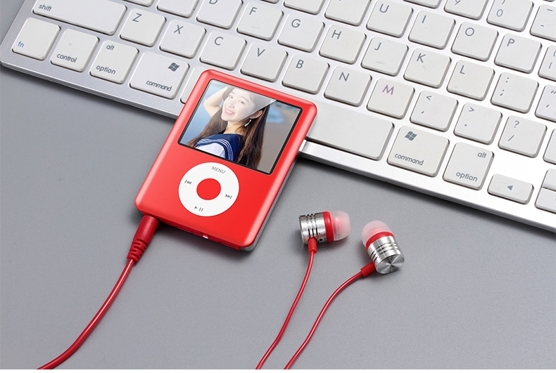 Mp3 Mp4 16G Music player with 2.0in screen,Support SD/TF/miniSD Card, recording,FMRadio Mini Digital green 10