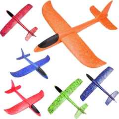 Aerobatic version of hand - tossed aircraft foam swing toy plane throwing glider random normal