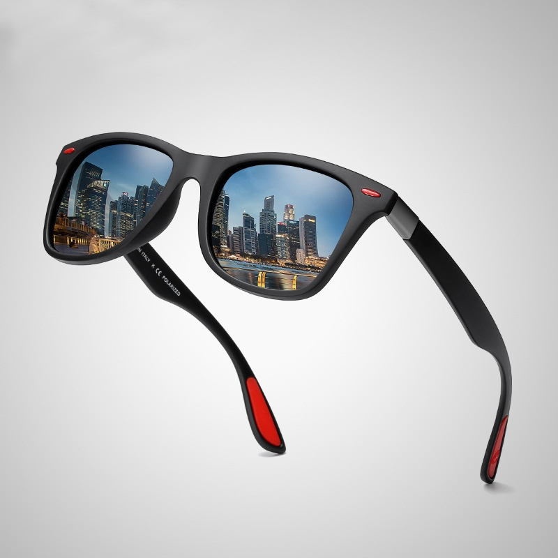 cb02f1f9ad ... men s driving polarized sunglasses UV protection UV400 Black frame   Gray lens one size  Product No  2014729. Item specifics  Seller SKU B-031   Brand