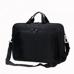 Men's business casual briefcase bags handbag shoulder bag diagonal package Black 40*29*5.5cm