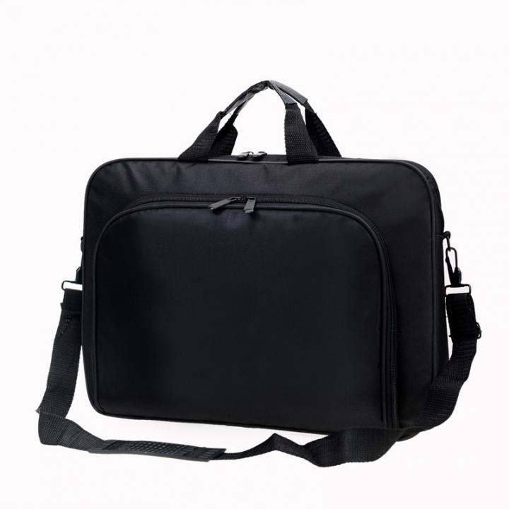 2e9c05860cb3 Men s business casual briefcase bags handbag shoulder bag diagonal package  Black 40 29 5.5