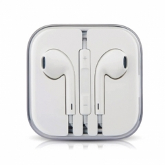 In-Ear Sports Headset Earphone Headphone Stereo Earpiece with MIC for Apple Android Phone white white