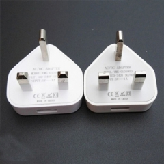 fashipon 1pcs Gb 3-pin charging head USB output 5V White white one size