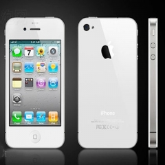 Used iPhone 4 -16GB+512M -5MP- 4 Inch+ 80% new smartphone Used white
