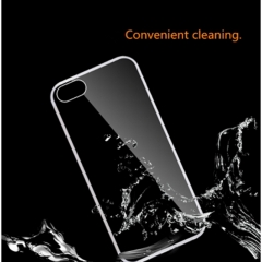 Fashion hot sale transparent phone protection cover for  iPhone 4 and 4s transparent one size