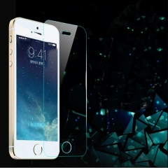Hot sale 1pcs IPhone 4and 4S steel film 0.26mm arc edge hd film transparent 3.5 inches transparent one size