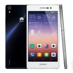 Used  Huawei P7 + 2+16GB -5 ''screen-13+8MP-Double SIM 90% new smartphone Used white