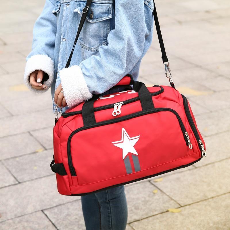 fcc22d019d Nylon Handbags Waterproof Backpack One Shoulder Bag portable ...