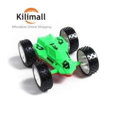 Children's toys double-sided inertia car fast car will somersault ruggedness powerful force red green 8*7*4