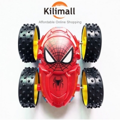 Inertia double-sided dump truck resistant to falling children's gift toys fast powerful red blue 7.8*7*3.5