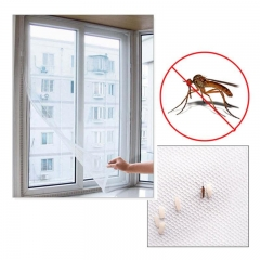 Anti Mosquito Net For Kitchen Window Net Mesh Screen Mosquito Mesh Curtain Protector Insect Bug Fly white 1.5*2M
