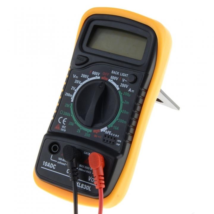 Digital Multimeter Portable multi meter AC/DC voltage meter DC Ammeter resistance tester as picture No Battery