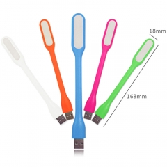 USB Fan Flexible Portable Mini Fan and USB LED Light Lamp For Power Bank & Notebook & green 14.5cm 1w