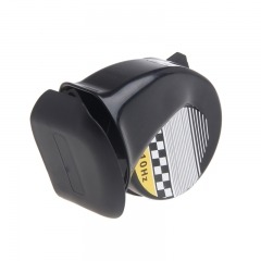 Universal Waterproof Loud Snail Air Horn Siren 130dB For 12V Truck Motorcycle