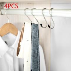 S type hook Portable hanger Wardrobe essential Clothing Hook scarf/Tie/bra/Bag/Underwear kitchen as picture