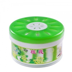 Household indoor aromatherapy air fresheners Solid fresheners Car fragrances toilet deodorants osmanthus 6.5*3.8cm