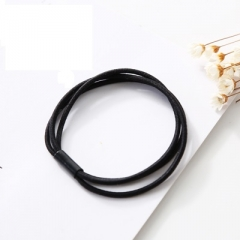 Korea hair rope ladies headband hair accessories hair band headwear girls horsetail hair accessories black 5cm