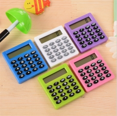 BinFul New Student Mini Electronic Calculator Candy 5 Colors Calculating Office Supplies Gift