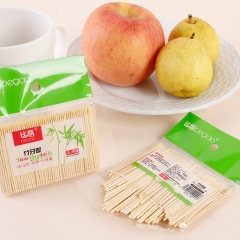 Disposable Wood Dental Natural Bamboo Toothpick Family Restaurant Hotel Products Toothpick Tools as picture one size
