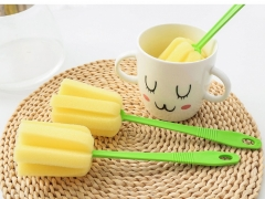 Cup Brush Kitchen Cleaning Tool Sponge Brush For Wineglass Bottle Coffe Tea Glass   Bottle brush as picture 24*5.5cm