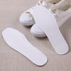 Insole cotton pad comfortable insole multi-layer cotton sweat-absorbent insoles sports insoles white 35