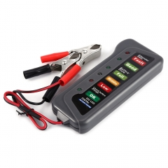 T16897 12V Digital Battery Alternator Tester with 6 LED Lights Display Car Vehicle Diagnostic Tool