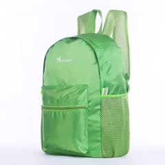 backpack outdoor Ultralight Foldable waterproof Sports travel men and women luggage Leisure Green 41*32*15CM