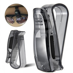 Portable Car Card Holder Clips Auto Vehicle Visor Sunglass Eye Glasses Holderaments Car Glasses Clip black 3pcs