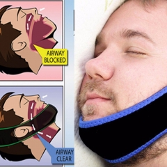 Stop Snoring Belt Snore Stopper Anti Snoring Chin Dislocated Snoring Resistance Band Chin Fixing as shown 66mm