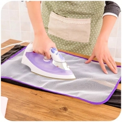 1pc Ironing Board Cover Protective Press Mesh Iron for Ironing Cloth Guard Protect Delicate Garment random 35*50cm