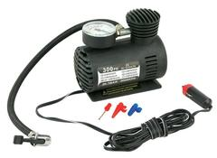 Mini12V 300PSI Electric Auto Inflatable Pump with Barometer Portable Air Compressor Tire Inflator