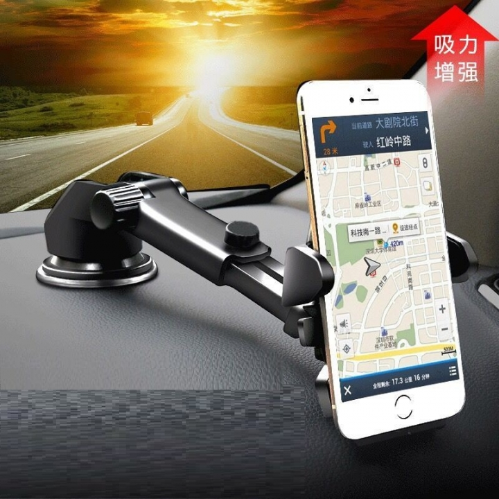 Two use phone stand mobile phone Holder Car windshield air Vent Mount holder 360 Degree Adjustment black one size
