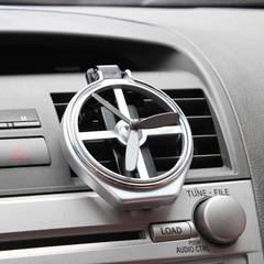 Car Outlet Water Cup Holder Plastic Drink Holder Air Conditioning Outlet Cup Holder Car Cup Outlet silver color one size