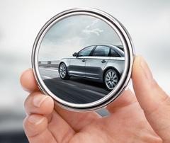 2pcs Car Styling Auto Motorcycle Blind Spot Rear View Mirror 360 Degree Adjustable Car Mirror Black silver 1pcs