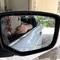 2/Set Car Mirror Window Clear Film Anti-Fog Car Rearview Mirror Protective Film Waterproof Rainproof transparent Round diameter 80mm 2pcs