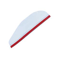 1Pair Auto Car Rearview Mirror Rain Blades Generic Car Back Mirror Eyebrow Rain Cover Transparent 15*5cm