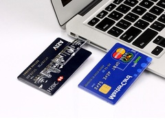 fashion 8GB Bank Card Shape USB Flash Drive Pen Drive Memory Card Stick Pendrive U Disk Card Flash random color 1pcs 8G 83.5*52.5mm