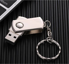 New flash drive32G 16G 8G pen drive metal usb disk memory usb stick for PC U disk memory Stick Gift Silver color normal 64G