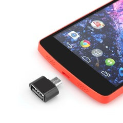 New Mini OTG Cable USB OTG Adapter Micro USB to USB Converter for Xiaomi Android Smartphone Tablet black normal 1pcs